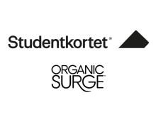 Studentkortet i exklusivt samarbete med Organic Surge