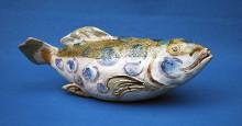 Fågel, Fisk & Människa - keramiska verk av Ryozo Miki