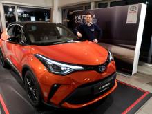 Oppgradert Toyota C-HR er klar for veiene i Narvik