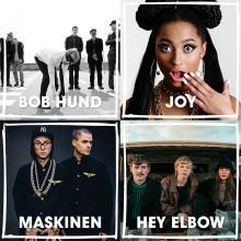Bob Hund, Joy, Maskinen, Hey Elbow m.fl till Malmöfestivalen
