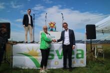 Grattis Sjöbo till Sveriges största solcellspark!