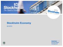 Stockholm Economy Q3 2012