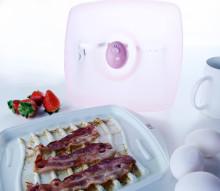 Denne gir deg perfekt stekt bacon - i mikrobølgeovnen!