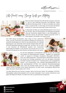 Volle Pracht voraus: Blumige Grüße zum Muttertag