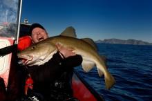 Finn det bästa norska fisket med hjälp av mobiltelefonen