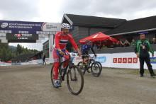 Storfint besøk på sykkel-VM i Hafjell