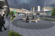 Nytt hotelltorn och internationellt mässområde när Nordic Choice Hotels deltar i utvecklingen av Arlanda