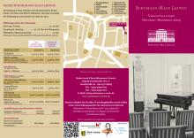 Veranstaltungsflyer Schumann-Haus