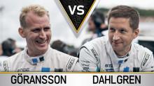 Heta titelkampen mellan teamkamraterna – Richard Göransson vs. Robert Dahlgren om STCC-guldet