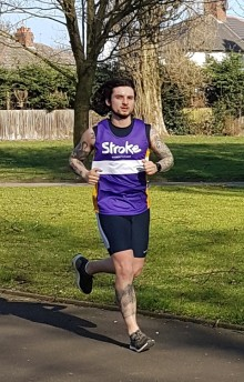 West Midlands hero looks to go the extra mile for the Stroke Association