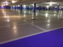 Flowcrete Sweden ser till att Mall of Scandinavia får 130 000 kvm ljus och välkomnande parkeringsyta