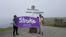 Bristol stroke survivor walks over 200 miles for the Stroke Association