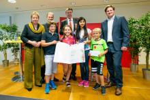 Mini - Journalisten aus Dormagen ganz groß - 1.Platz beim 35. Schülerzeitungswettbewerb