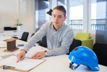 """Betongingenjören: """"Jag fick nytt jobb samtidigt som jag studerade YH på FEI"""""""