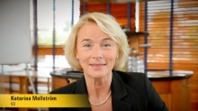 Videointervju med Katarina Mellström VD Stanley Security Sverige AB
