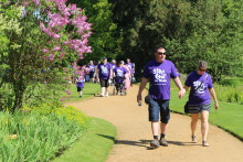 Survivors take a Step Out for Stroke in Chelmsford