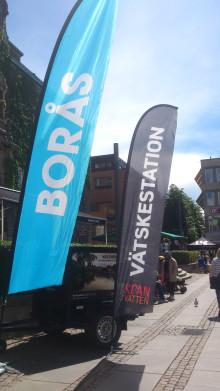Borås Kranvatten – SM-veckans törstsläckare