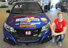Ung racingmästare satsar på STCC med nytt bilmärke