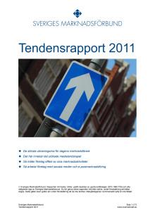 Sveriges Marknadsförbunds Tendensrapport 2011