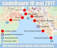 LindeDagen 10 maj: En vecka kvar