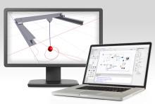 Nya möjligheter med digitala tvillingar. B&R och MapleSim förenklar modellbaserad maskinutveckling.