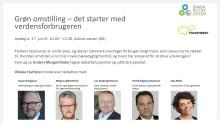 Dansk Retursystem arrangerer debat på Folkemødet: Grøn omstilling – det starter med verdensforbrugeren