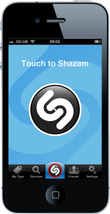Shazam Launches World's Fastest Content Recognition for iPhone and iPod touch Devices