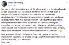 Erleidet Udo Lindenberg Schiffbruch mit TUI Cruises?