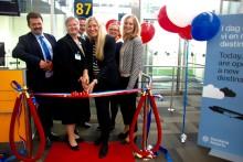 Invigning av Croatian Airlines nya linje till Zagreb