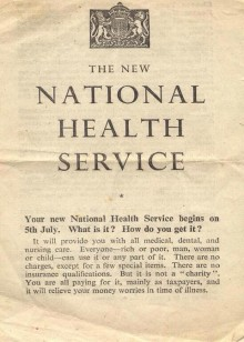 Happy 67th Birthday NHS!
