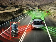Nya Volvo V40 - Säkerhet & Support:  Den säkraste och mest intelligenta bilen i segmentet