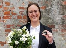 Ærøsk elev får sølvmedalje og legat