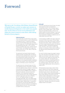 Foreword - Deloitte Annual Review of Football Finance 2012