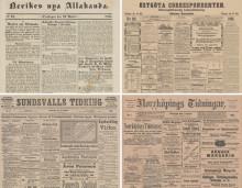 Ännu mer historiska nyheter i KB:s onlinetjänst