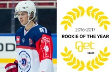 ​Sebastian Johansen er Get Rookie of the Year 2016/2017