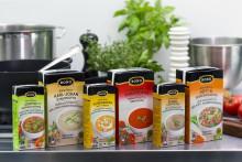 Gustaf Bong lanserar nya soppor och väljer bort konservburken
