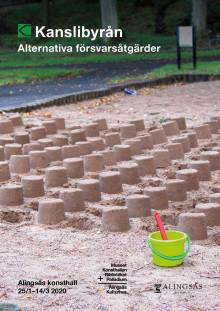 """Pressvisning på Alingsås konsthall: Kanslibyråns """"Alternativa försvarsåtgärder"""""""