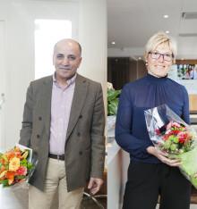 Årets Helmer Fredriksson pris till Mohammed Khoban och Cecilia Lejon