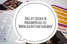 1 april deadline för att skicka in programförslag!