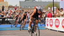 Sportson Patrol på plats under AXA Stockholm Triathlon 2011