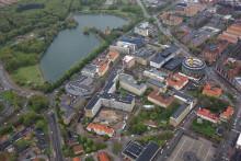 Arkitekt och byggentreprenör klara för ny vårdbyggnad i Malmö