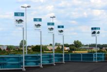 Nya återvinningscentralen i Ängelholm står klar