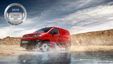 "NYA CITROËN BERLINGO VINNER  ""INTERNATIONAL VAN OF THE YEAR 2019""!"