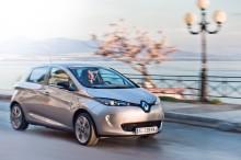 Fem stjerner til Renaults ZOE - Danmarks nye elbil