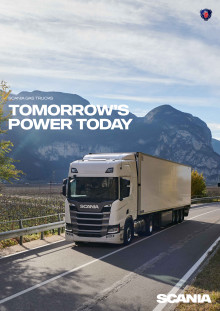 Scania Gas Trucks_Broschüre 2018