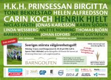 PRESSINBJUDAN: Välkommen till Barngolfen den 13 juni  – Sveriges största välgörenhetsgolftävling till förmån för Drottning Silvias barn- och ungdomssjukhus