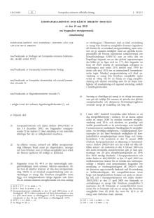 EUROPAPARLAMENTETS OCH RÅDETS DIREKTIV 2010/31/EU