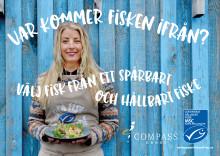 """Compass Group stödjer MSC-kampanjen """"Var kommer fisken ifrån?"""""""