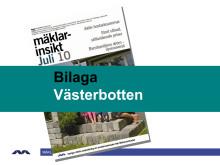 Mäklarinsikt juli 2010: Västerbotten