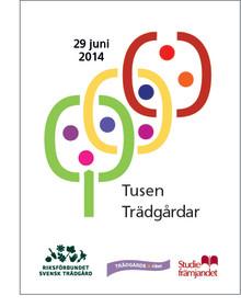 Tusen Trädgårdar den 29 juni - landets största trädgårdshändelse - gratisevenemang för hela familjen